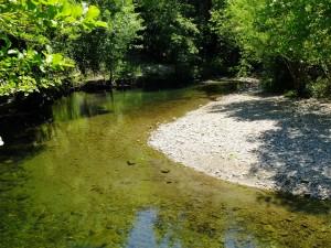 rivière camping