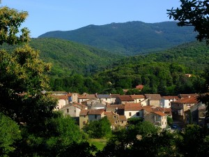 village pittoresque  languedoc
