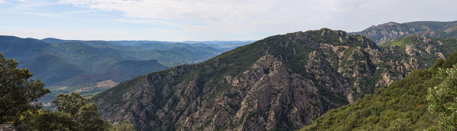 Roc de Peyris (595m), Mons, Hérault, France.